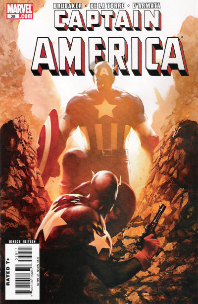 Cover for Captain America (Marvel, 2005 series) #39