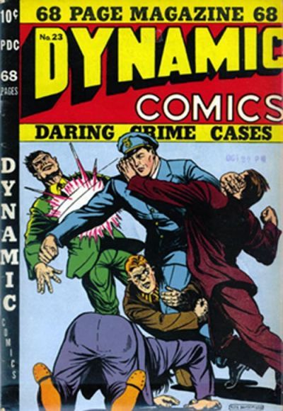 Cover for Dynamic Comics (Superior, 1947 series) #23