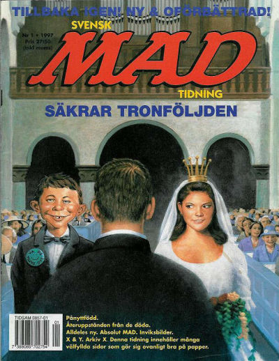 Cover for Svenska Mad (Atlantic Förlags AB, 1997 series) #1/1997