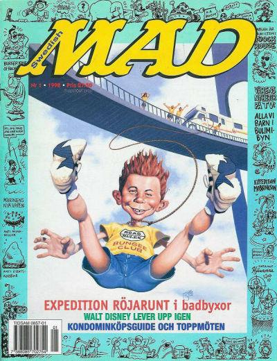 Cover for Svenska Mad (Atlantic Förlags AB, 1997 series) #1/1998