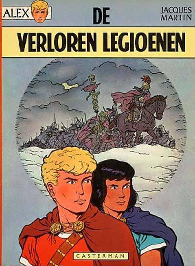 Cover for Alex (Casterman, 1968 series) #6 - De verloren legioenen