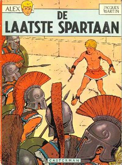 Cover for Alex (Casterman, 1968 series) #7 - De laatste Spartaan