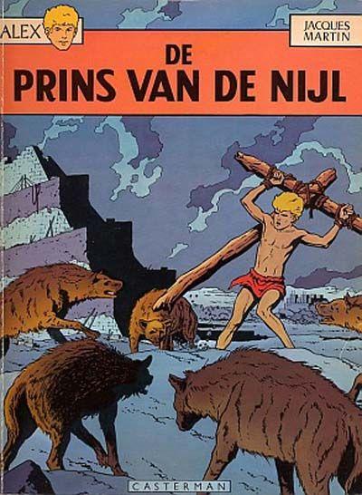 Cover for Alex (Casterman, 1968 series) #11 - De prins van de Nijl