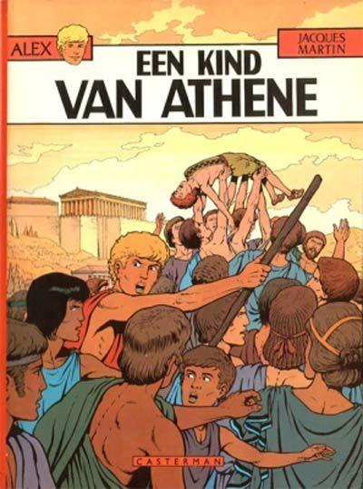 Cover for Alex (Casterman, 1968 series) #15 - Een kind van Athene