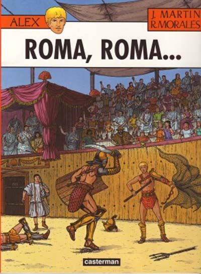 Cover for Alex (Casterman, 1968 series) #24 - Roma, Roma...