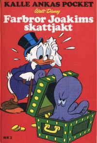 Cover Thumbnail for Kalle Ankas pocket (Serieförlaget [1980-talet]; Hemmets Journal, 1986 series) #2 - Farbror Joakims skattjakt