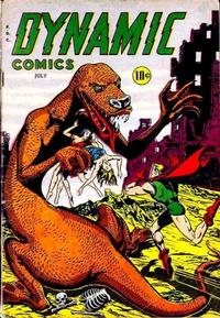 Cover for Dynamic Comics (Superior, 1947 series) #21