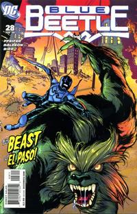 Cover Thumbnail for The Blue Beetle (DC, 2006 series) #28