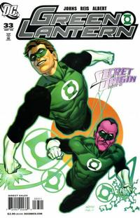 Cover Thumbnail for Green Lantern (DC, 2005 series) #33 [Direct Sales]