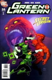 Cover Thumbnail for Green Lantern (DC, 2005 series) #34 [Direct Sales]