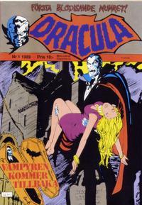 Cover Thumbnail for Dracula (Atlantic Förlags AB, 1982 series) #1/1989