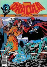 Cover Thumbnail for Dracula (Atlantic Förlags AB, 1982 series) #2/1989
