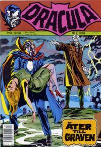 Cover Thumbnail for Dracula (Atlantic Förlags AB, 1982 series) #4/1989