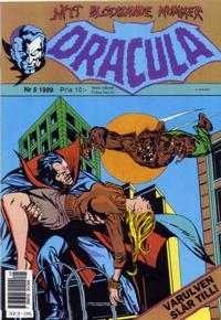 Cover Thumbnail for Dracula (Atlantic Förlags AB, 1982 series) #5/1989