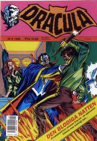 Cover Thumbnail for Dracula (Atlantic Förlags AB, 1982 series) #6/1989