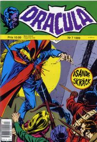 Cover Thumbnail for Dracula (Atlantic Förlags AB, 1982 series) #7/1989