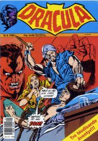 Cover Thumbnail for Dracula (Atlantic Förlags AB, 1982 series) #8/1989