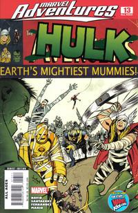 Cover Thumbnail for Marvel Adventures Hulk (Marvel, 2007 series) #13