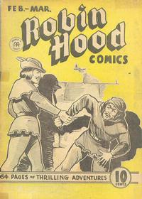 Cover Thumbnail for Robin Hood Comics (Anglo-American Publishing Company Limited, 1941 series) #v1#7