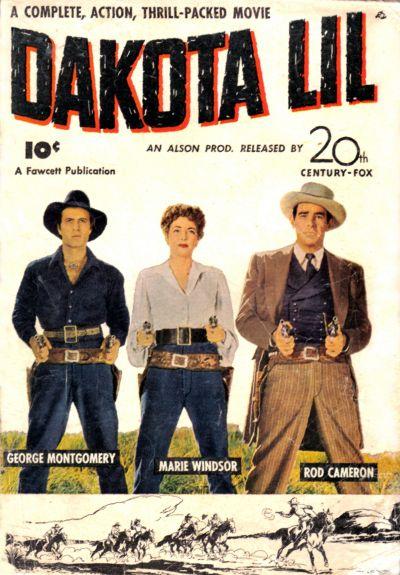 Cover for Dakota Lil (Fawcett, 1949 series) #[nn]