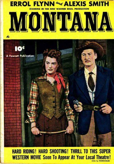 Cover for Montana (Fawcett, 1950 series) #[nn]