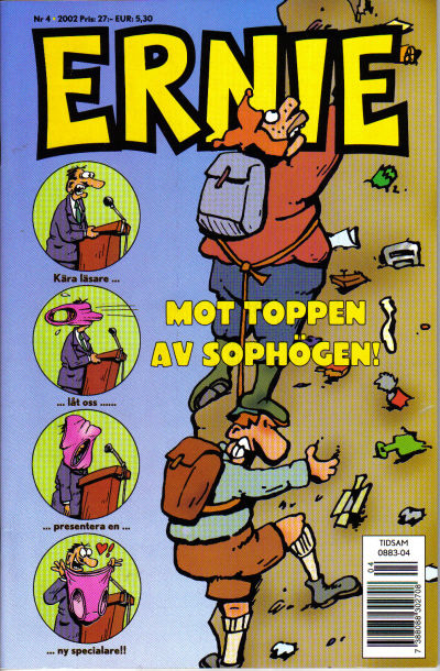 Cover for Ernie (Egmont, 2000 series) #4/2002