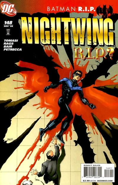 Cover for Nightwing (DC, 1996 series) #148