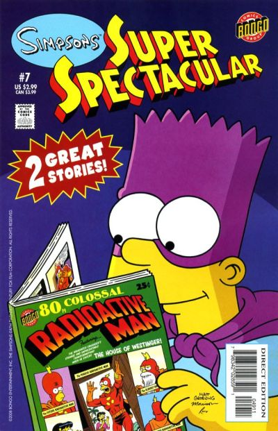 Cover for Bongo Comics Presents Simpsons Super Spectacular (Bongo, 2005 series) #7