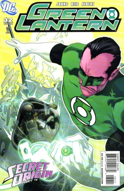 Cover for Green Lantern (DC, 2005 series) #32
