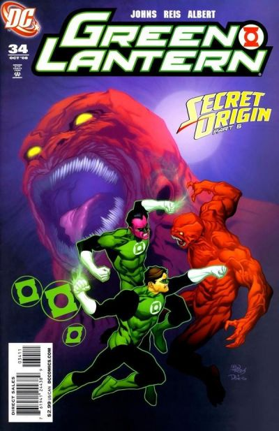 Cover for Green Lantern (DC, 2005 series) #34 [Direct Sales]