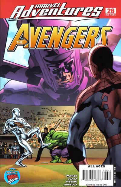 Cover for Marvel Adventures The Avengers (Marvel, 2006 series) #26