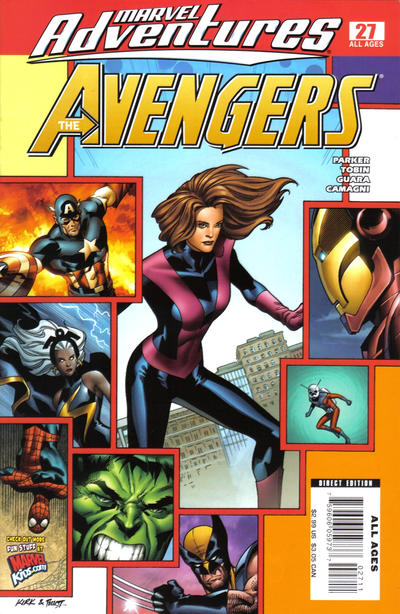 Cover for Marvel Adventures The Avengers (Marvel, 2006 series) #27