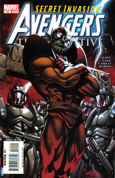 Cover for Avengers: The Initiative (Marvel, 2007 series) #14