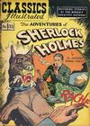 Cover for Classics Illustrated (Gilberton, 1947 series) #33 [HRN 53] - The Adventures of Sherlock Holmes