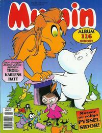 Cover Thumbnail for Mumin [julalbum]: Trollkarlens hatt (Semic, 1996 series)