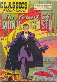 Cover Thumbnail for Classics Illustrated (Gilberton, 1947 series) #3 [HRN 36] - The Count of Monte Cristo