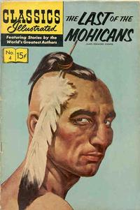 Cover Thumbnail for Classics Illustrated (Gilberton, 1947 series) #4 [HRN 135] - The Last of the Mohicans [Painted Cover]