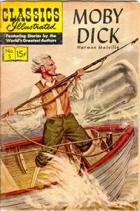 Cover Thumbnail for Classics Illustrated (Gilberton, 1947 series) #5 [HRN 131] - Moby Dick