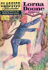 Cover Thumbnail for Classics Illustrated (Gilberton, 1947 series) #32 [HRN 138] - Lorna Doone