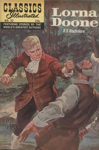 Cover Thumbnail for Classics Illustrated (Gilberton, 1947 series) #32 [HRN 166] - Lorna Doone