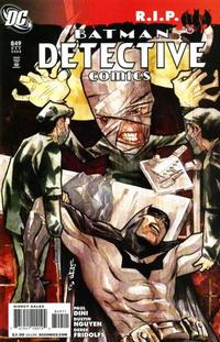 Cover Thumbnail for Detective Comics (DC, 1937 series) #849