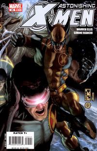Cover Thumbnail for Astonishing X-Men (Marvel, 2004 series) #25