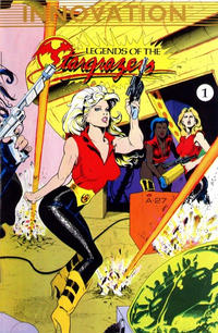Cover Thumbnail for Legends of the Stargrazers (Innovation, 1989 series) #1