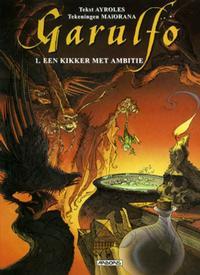 Cover Thumbnail for Garulfo (Arboris, 2003 series) #1 - Een kikker met ambitie