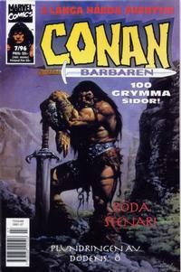 Cover Thumbnail for Conan (Semic, 1990 series) #7/1996