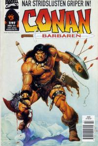 Cover Thumbnail for Conan (Semic, 1990 series) #7/1997