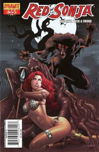 Cover Thumbnail for Red Sonja (Dynamite Entertainment, 2005 series) #35 [Mel Rubi Cover]