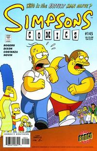 Cover Thumbnail for Simpsons Comics (Bongo, 1993 series) #145