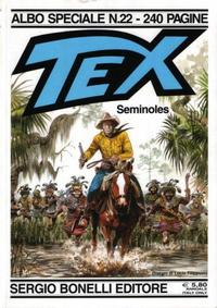 Cover Thumbnail for Tex - Albo Speciale (Sergio Bonelli Editore, 1988 series) #22 - Seminoles