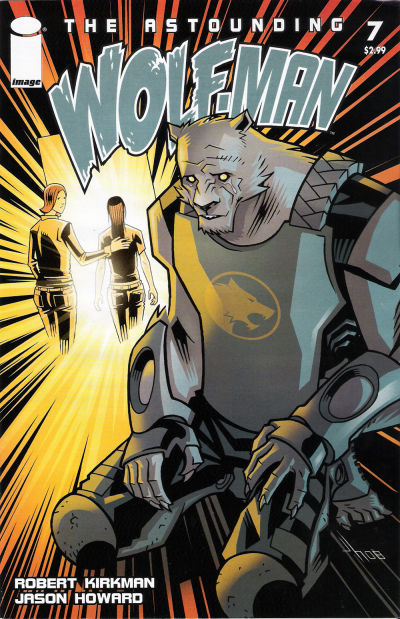 Cover for The Astounding Wolf-Man (Image, 2007 series) #7
